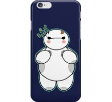 Baymax is angry! iPhone Case/Skin