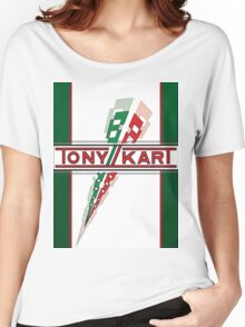 Tony kart Women's Relaxed Fit T-Shirt