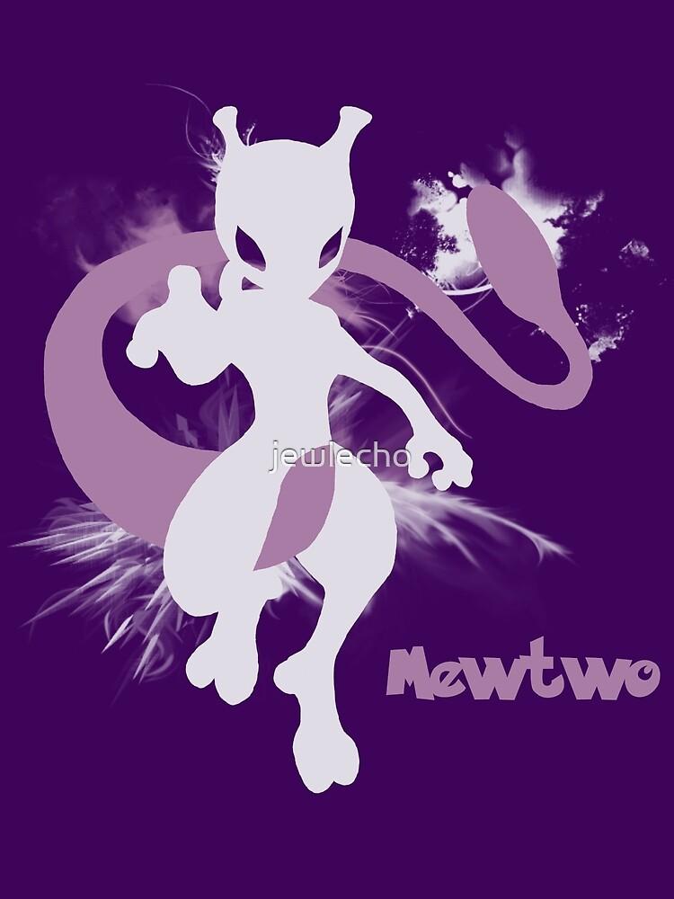 Mewtwo Silhouette Shirt by jewlecho