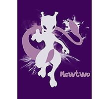 Mewtwo Silhouette Shirt Photographic Print