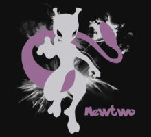 Mewtwo Silhouette Shirt Kids Clothes