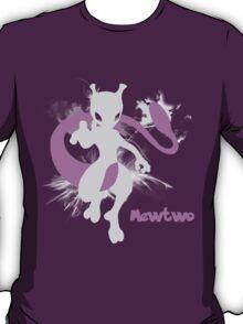 Mewtwo Silhouette Shirt T-Shirt