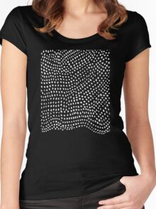 Ink Brush #2 Women's Fitted Scoop T-Shirt