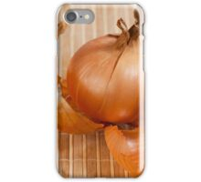 White traditional onion  iPhone Case/Skin