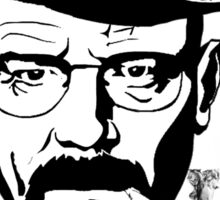 Walter white is Highsenberg Sticker