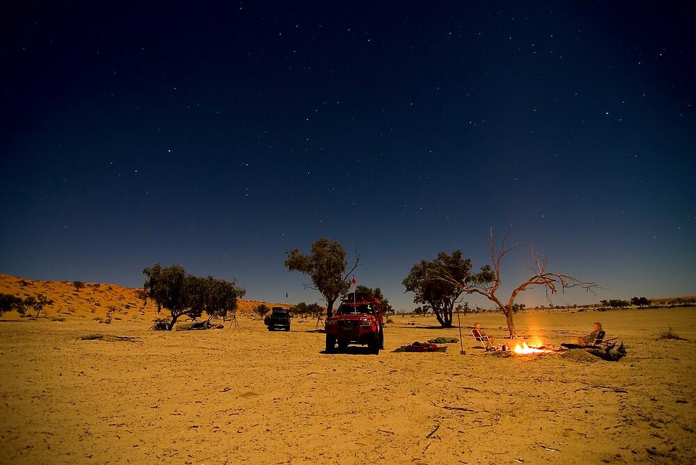 Desert Night by Overlander4WD