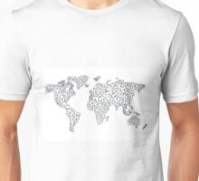 Word Map in a parallel universe II Unisex T-Shirt