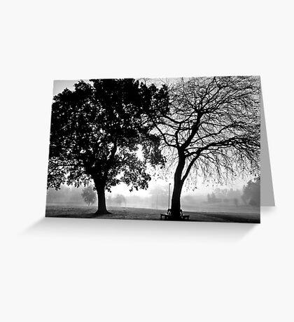 foggy duo Greeting Card