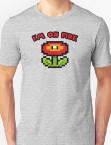 I am on fire - fire flower Unisex T-Shirt
