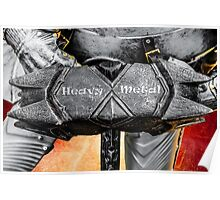 Medieval knight - Heavy Metal Poster