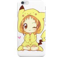Pikachu Girl! ♥ iPhone Case/Skin