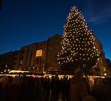 Lights of Innsbruck by danielhardinge