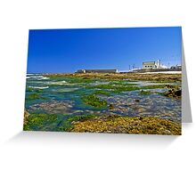 Cowrie Hole to the baths Greeting Card