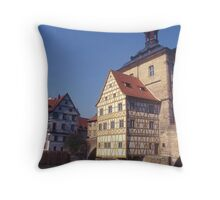Altes Rathaus (Old Town Hall) Bamberg. Germany. Throw Pillow