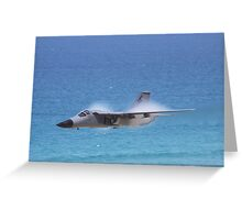 F-111 Low and Fast! Greeting Card