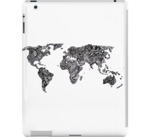 World Map in a parallel universe iPad Case/Skin
