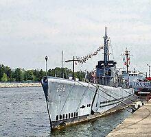 USS Silversides by Monnie Ryan