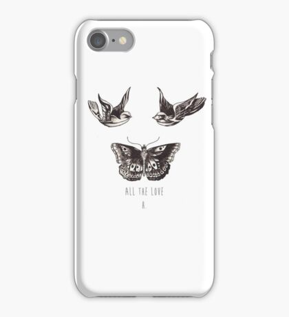 All The Love, H. iPhone Case/Skin