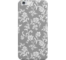 Antique Vintage Floral Leaf Pattern iPhone Case/Skin