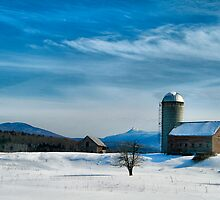 Winter With Jay Peak by Deborah  Benoit