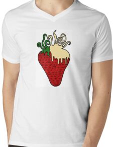 Strawberries 'n' Cream  Mens V-Neck T-Shirt