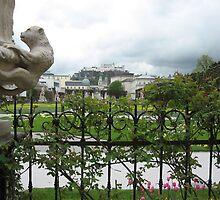 Mirabell Gardens, Salzburg by Kymbo