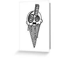 Ice Scream Greeting Card