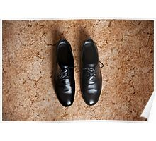 Male dress shoes Poster