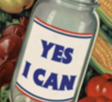 Yes I Can Sticker