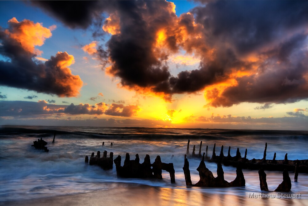 Seas Of Gold by Matthew Stewart