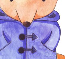 Paddington Fox Sticker