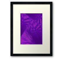 Purple Prism Framed Print