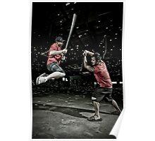 Urban Ninja B & E Poster