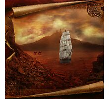 Ships in the Desert Photographic Print