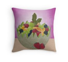 Fruits of Passion Throw Pillow