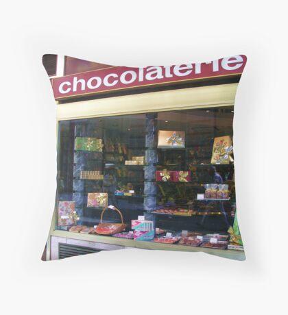 Temptation - Swiss Chocolates - Lausanne Throw Pillow