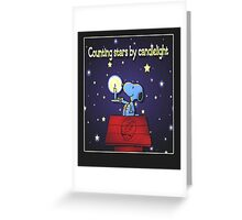 Counting Stars by Candelight  Greeting Card