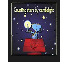 Counting Stars by Candelight  Photographic Print