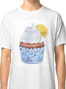 Delicious lemon cupcake Classic T-Shirt
