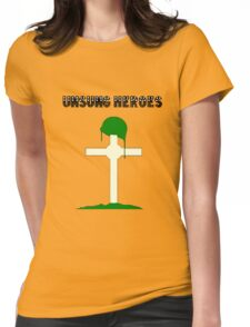 Unsung Heroes Womens Fitted T-Shirt