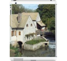 Old Mill Stream iPad Case/Skin