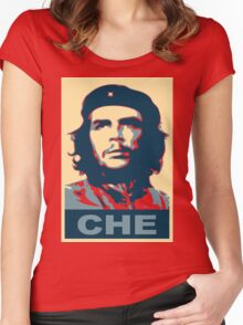 che guevara obama style Women's Fitted Scoop T-Shirt