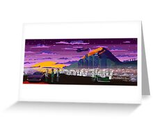 GTA V Pixeled - Los Santos Greeting Card