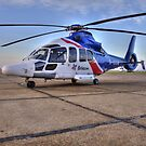 Bristow Norwich - EC155 B1 Helicopter by Peter Sweeney