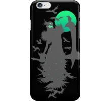 Fiddlesticks Crows Black iPhone Case/Skin