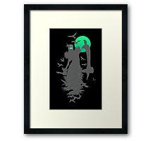 Fiddlesticks Crows Black Framed Print