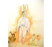 I'm A Rabbit Photographic Print