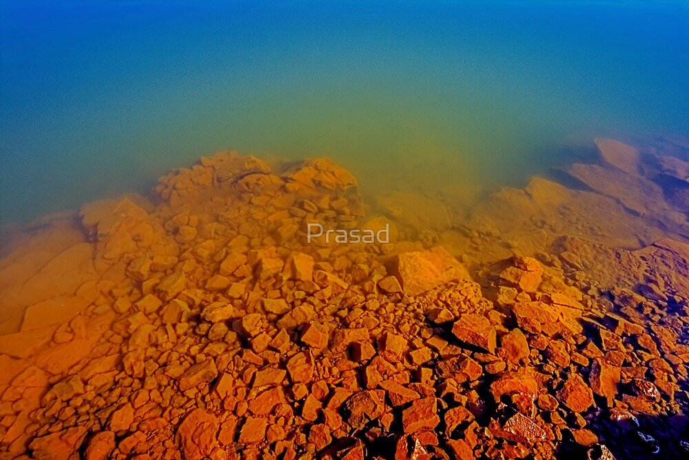 Where Earth meets Water by Prasad