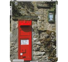 Post Box Castle Bolton N. Yorkshire, UK, 1980s. iPad Case/Skin