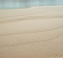 Wave Lines in the Sand by metriognome